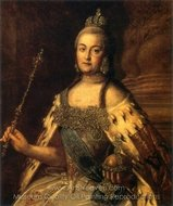 Catherine the Great painting reproduction, Sir Anthony Van Dyck