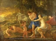 Cephalus and Aurora painting reproduction, Nicolas Poussin