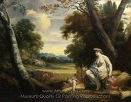 Ceres and Harvesting Cupids painting reproduction, Simon Vouet