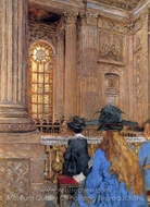 Chapel in Versailles painting reproduction, Edouard Vuillard