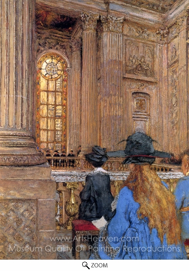 Edouard Vuillard, Chapel in Versailles oil painting reproduction