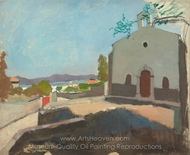 Chapel of Saint Joseph, Saint-Tropez painting reproduction, Henri Matisse