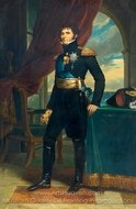 Charles John as Crown Prince of Sweden painting reproduction, Francois Gerard