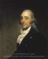 Charles Lee (Gentleman of the Lee Family) painting reproduction, Gilbert Stuart