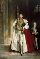 Charles Stewart, Sixth Marquess of Londonderry painting reproduction, John Singer Sargent