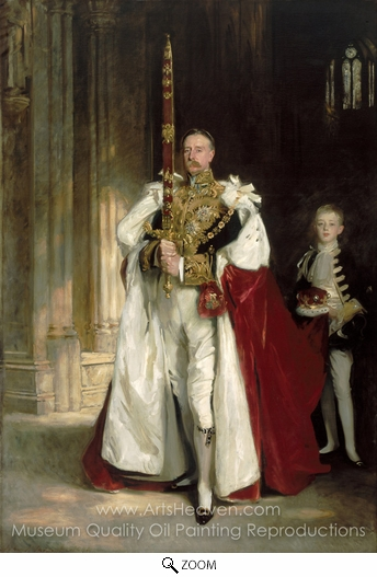 John Singer Sargent, Charles Stewart, Sixth Marquess of Londonderry oil painting reproduction