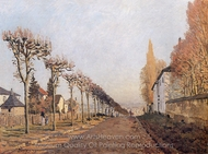 Chemin de la Machine painting reproduction, Alfred Sisley