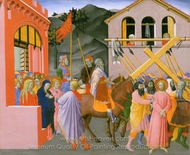 Christ Carrying the Cross painting reproduction, Italian Painter