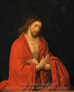 Christ Crowned with Thorns painting reproduction, Lucas Van Leyden