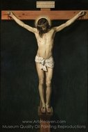 Christ Crucified painting reproduction, Diego Velazquez