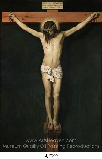 Diego Velazquez, Christ Crucified oil painting reproduction