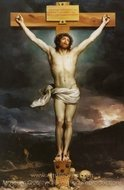 Christ on the Cross painting reproduction, Anton Raphael Mengs