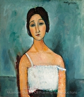 Christina painting reproduction, Amedeo Modigliani