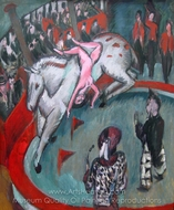 Circus painting reproduction, Ernst Ludwig Kirchner