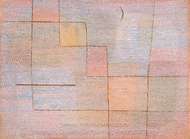 Clarification painting reproduction, Paul Klee