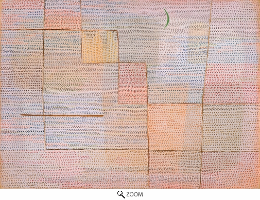 Paul Klee, Clarification oil painting reproduction