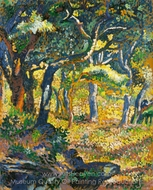 Clearing in Provence painting reproduction, Henri Edmond Cross