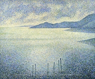 Coastal Scene painting reproduction, Theo Van Rysselberghe