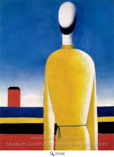 Kasimir Malevich, Complex Presentiment oil painting reproduction