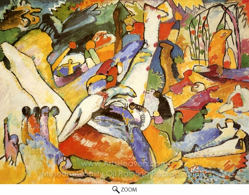 Wassily Kandinsky, Composition II oil painting reproduction