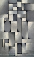 Composition in Gray painting reproduction, Theo Van Doesburg