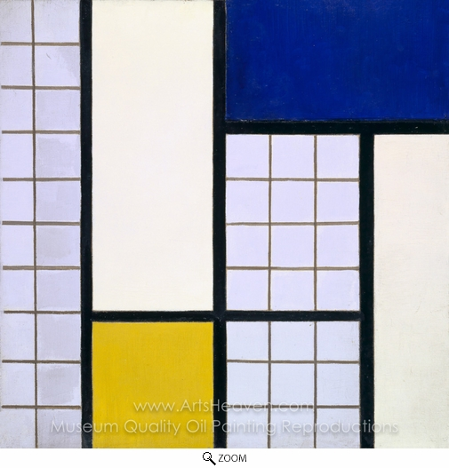 Theo Van Doesburg, Composition in Half-Tones oil painting reproduction