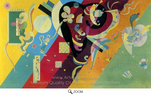 Wassily Kandinsky, Composition IX oil painting reproduction