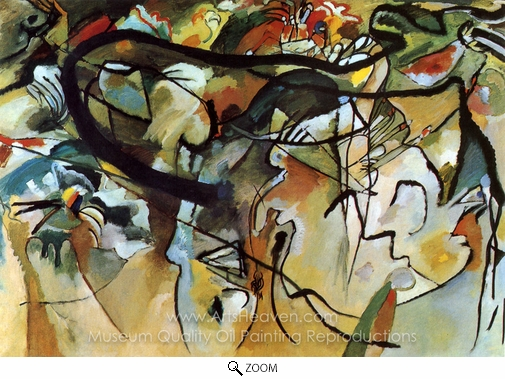 Wassily Kandinsky, Composition V oil painting reproduction