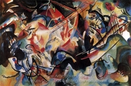 Composition VI painting reproduction, Wassily Kandinsky