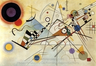 Composition VIII (No. 8) painting reproduction, Wassily Kandinsky