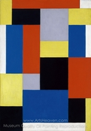 Composition XX painting reproduction, Theo Van Doesburg