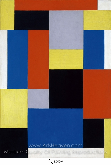 Theo Van Doesburg, Composition XX oil painting reproduction
