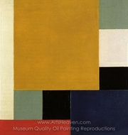 Composition XXII painting reproduction, Theo Van Doesburg