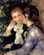 Confidences painting reproduction, Pierre-Auguste Renoir
