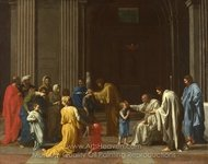 Confirmation painting reproduction, Nicolas Poussin