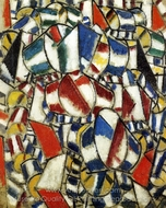 Contrast of Forms painting reproduction, Fernand Leger