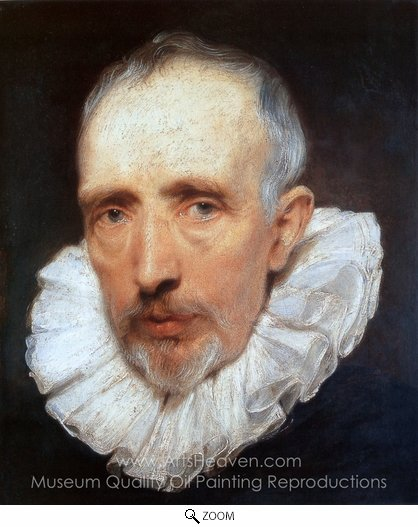 Sir Anthony Van Dyck, Cornelis Van Der Geest oil painting reproduction