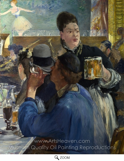 Édouard Manet, Corner in a Cafe-Concert oil painting reproduction