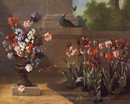 Corner of Monsieur de la Bruyere's Garden painting reproduction, Jean-Baptiste Oudry