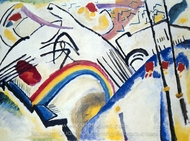 Cossacks painting reproduction, Wassily Kandinsky