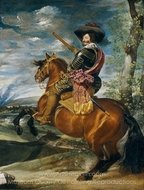 Count Duke of Olivares on Horseback painting reproduction, Diego Velazquez