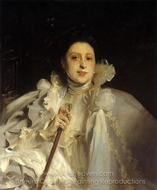 Countess Laura Spinola Nunez del Castillo painting reproduction, John Singer Sargent