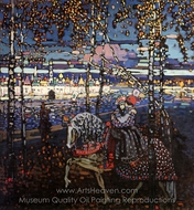 Couple Riding painting reproduction, Wassily Kandinsky