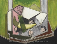 Cubist Still Life painting reproduction, Alfred Henry Maurer