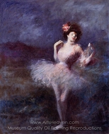 Dancer painting reproduction, Jean-Louis Forain