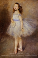 Dancer painting reproduction, Pierre-Auguste Renoir