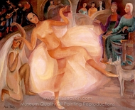 Dancer at the Palais painting reproduction, Alice Bailly