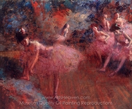 Dancers in Pink painting reproduction, Jean-Louis Forain