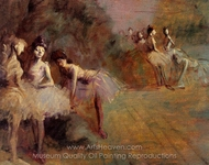 Dancers Resting painting reproduction, Jean-Louis Forain