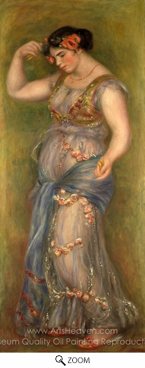 Pierre-Auguste Renoir, Dancing Girl with Castanets oil painting reproduction